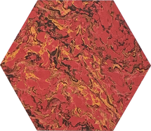 Red French Marble