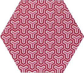 6 in hex pink geometric G1.png