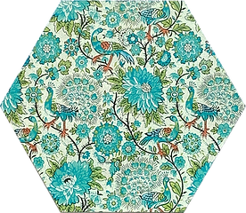 6 in hex blue green floral G1.png
