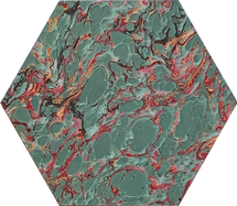 Teal French Marble