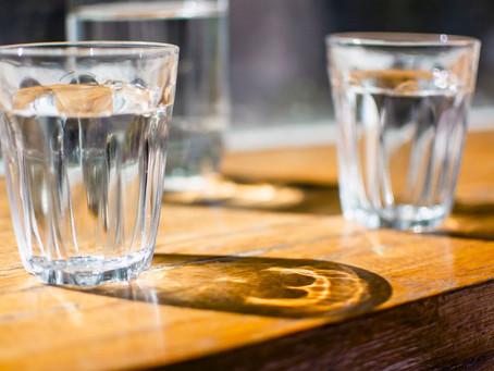 Bebo agua para el corazón..