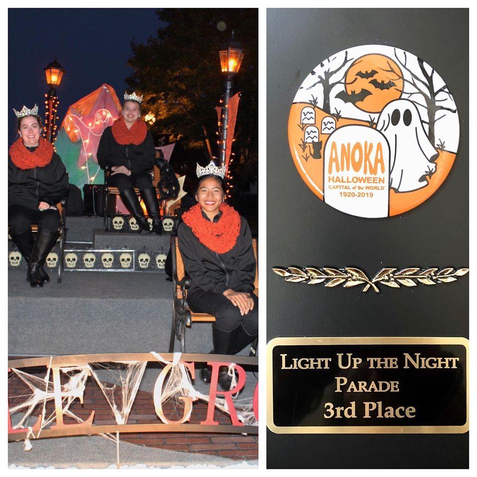 Anoka Light the Night Award Winner
