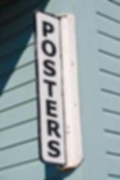 Poster Vintage Metal Sign