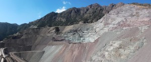 "View of ""El Soldado"" mine"