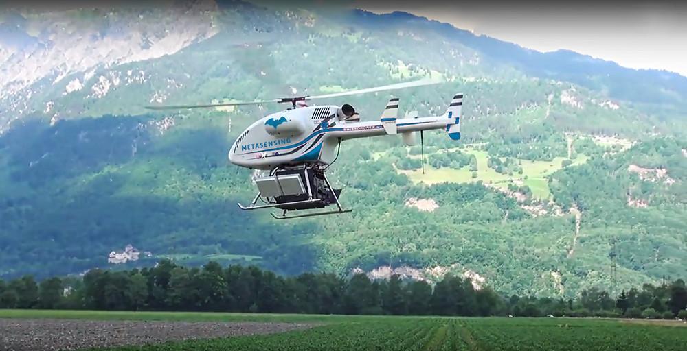 MetaSensing & Swissdrones system