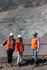 "MetaSensing staff visiting ""El Soldado"" mine"
