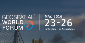 Geospatial World Forum – Rotterdam