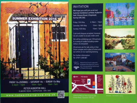 Tadworth Artgroup Summer Exhibition