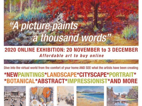 Tadworth Art Group 2020 Online Exhibition: 20th Nov–3rd Dec