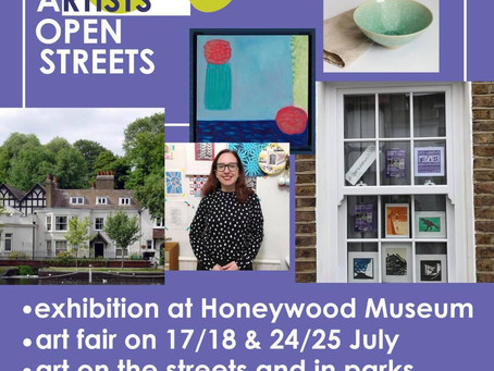 Carshalton Artists Open Streets: 17th June to 25th July