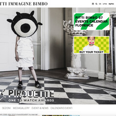 Pirouette One to Watch Awards - Pitti