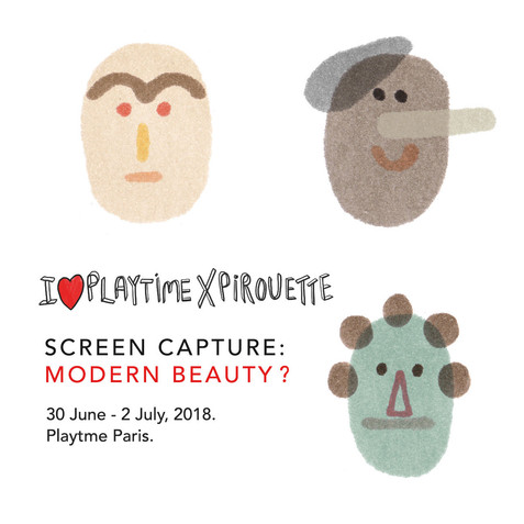 Playtime - Screencapture exhibition