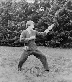 1977 Richard Bara Training Asahi Karate