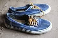 Ultramarine Canvas Shoes