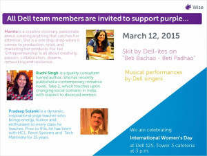 International Women's Day At Dell