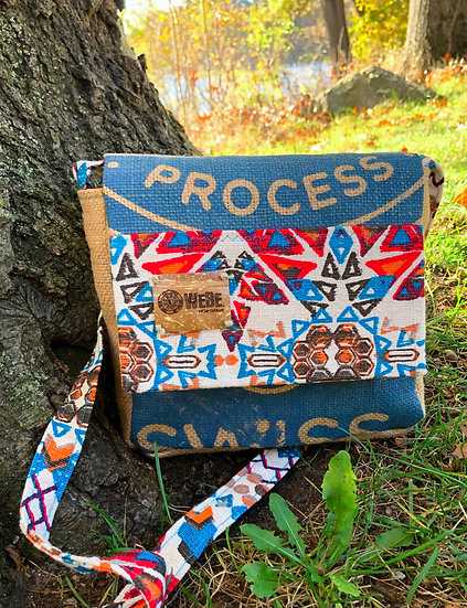 Square Crossbody Aztec