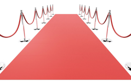 Roll Out the Red Carpet!