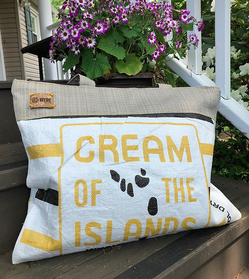 Cream of the Islands Earth Tone Tweed