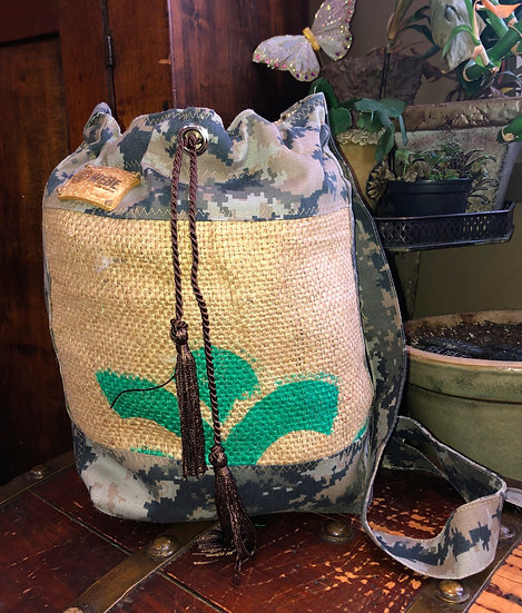 Coffee Drawstring Cammo
