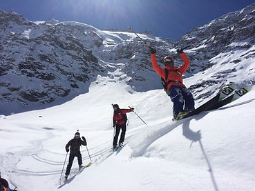 Ski Touring in Valfrejus
