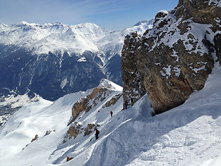 ski discovering Maurienne valley