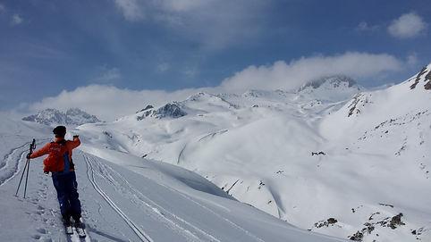 Rando à ski à Valfréjus