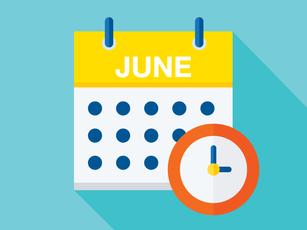 June 2021 Due Dates