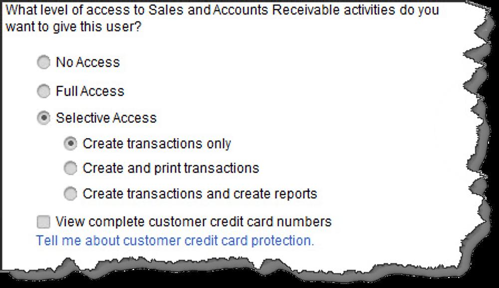 quickbooks user access permissions