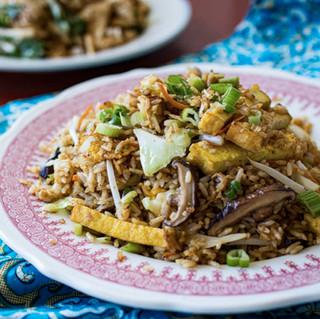 Nasi goreng vegetarian Simpang