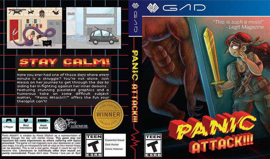 Panic Attack!!! Game Cover
