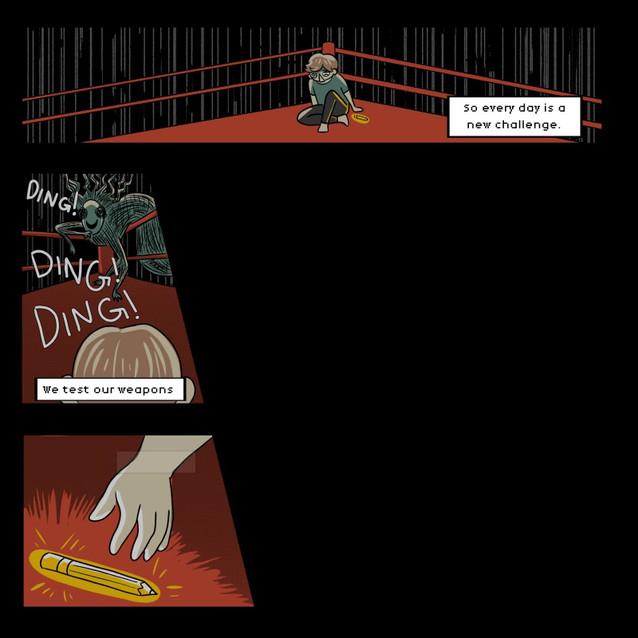 Comic Intro Animation