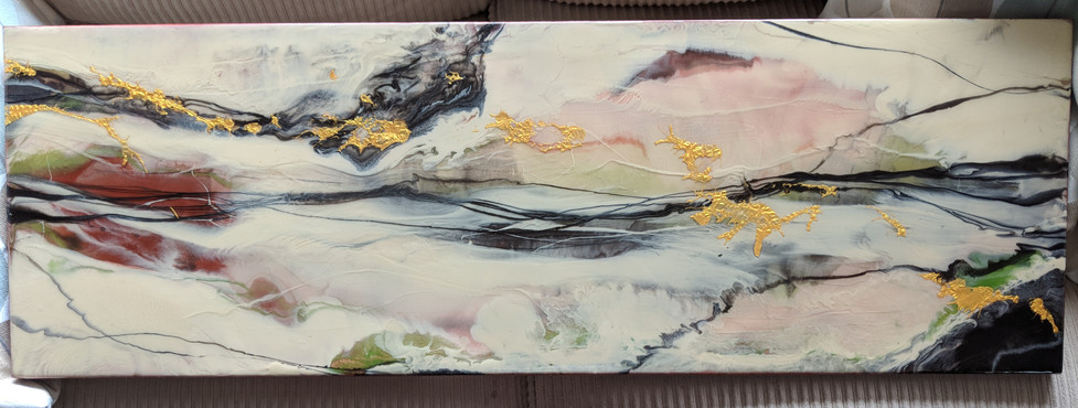 "12 x 32"" Earthtone Commission (SOLD)"