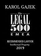 Karol Gajek Legal 500