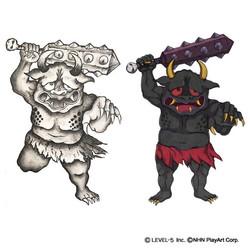 漆黒鬼 キャラクターデザイン