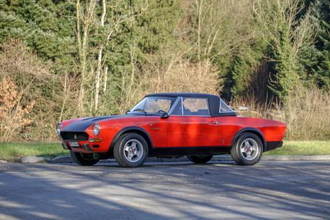 FIAT 124 CSA STRADALE