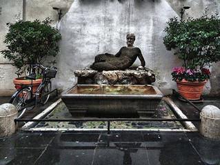 Говорящие статуи Рима. Бабуин
