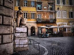 Говорящие статуи Рима. Пасквино