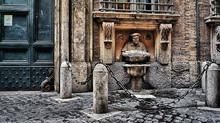 Говорящие статуи Рима. Носильщик