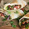Chicken or Beef paratha Roll
