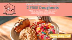 Spring donut ad