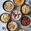 BUILD YOUR OWN OATMEAL BOWL