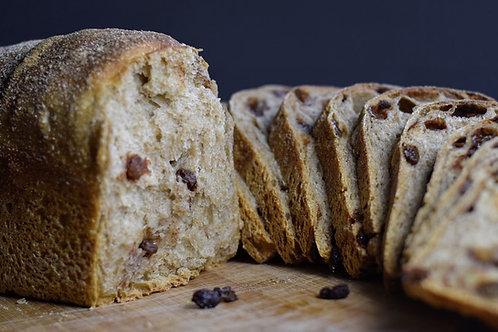 Cinnamon Raisin Pan Loaf