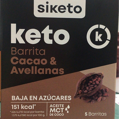 Barritas Cacao & Avellanas Siketo