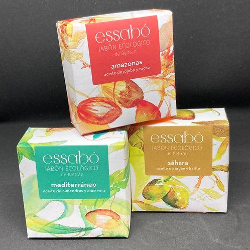Pack de Jabones Artesanales Aromas y Colores del Mundo Essabó