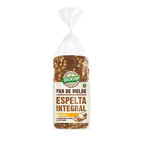 Pan de Molde de Espelta con Avena Integral