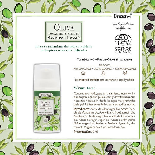 Sérum facial de Aceite de Oliva BIO 30 ml