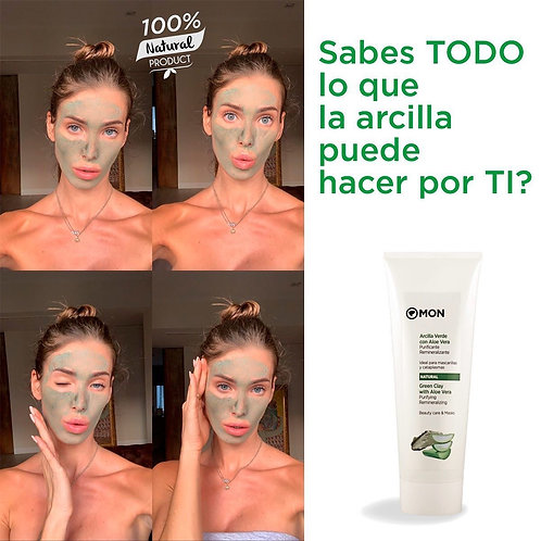 MON Arcilla verde con Aloe Vera