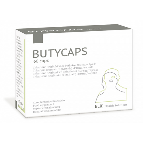 Butycaps · ELiE Health Soluctions · 60 cápsulas
