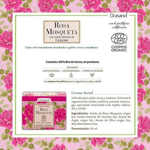 Crema Facial Rosa Mosqueta BIO 50 ml