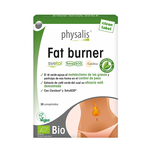 Fat Burner · Physalis · 30 comprimidos